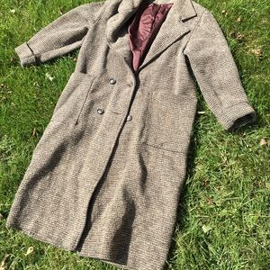 PLC Fine Outerwear WOOL trench coat